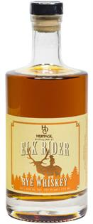 Heritage Distilling Rye Whiskey Elk Rider 750ml